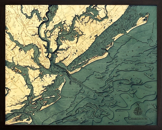 Char D L T on Lake George Topographic Map