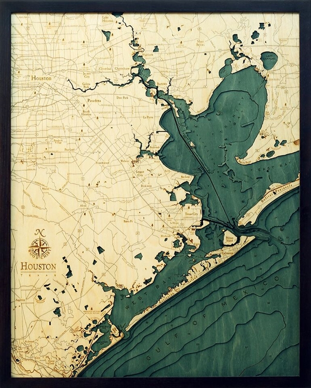 Hous D L T on Lake George Topographic Map