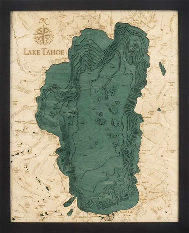 Lt D S T on Lake George New York Map
