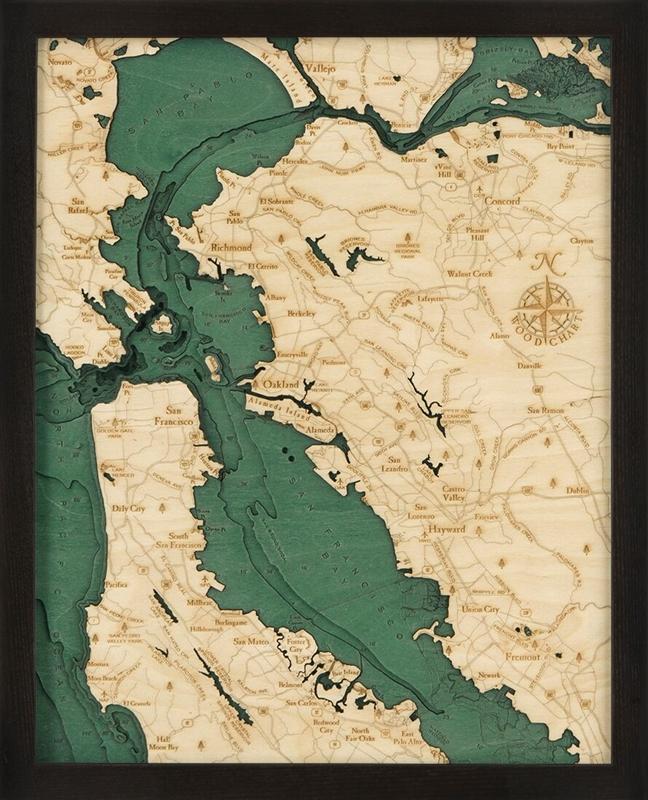 Sf D S T on Lake George Island Map